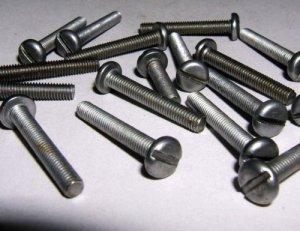 Vis acier tête bombée M5x 30mm