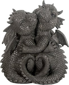 Dragon! Câliner! Sweet! Jardin! Figure! Dragon! Fantasy!