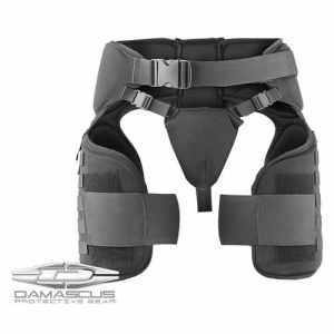équipement de protection de Damas Tg40Imperial cuisse épi (maritime), film Noir