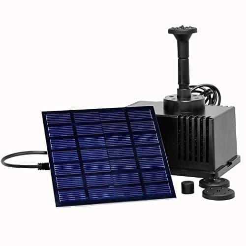 grapest pompe solaire fontaine pompe solaire pour tang 1. Black Bedroom Furniture Sets. Home Design Ideas