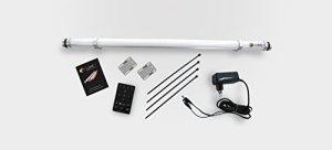 Set d'Single Lume 1sans fil Batterie Parasol Éclairage