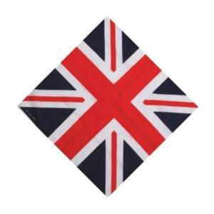Angleterre Rouge/blanc/bleu UNION flag Bandana