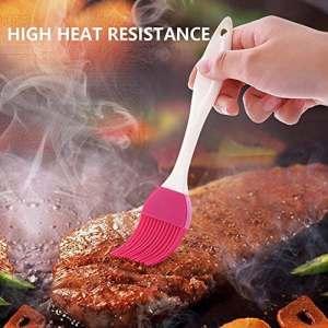 Couleur aléatoire à gâteaux en silicone Brosse outils de barbecue liquide Huile Beurre Pain Pâtisserie Outil