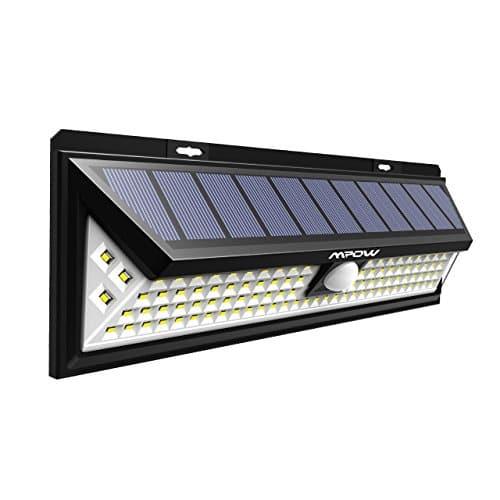 Version Puissante Mpow 102 Led Eclairage Solaire Exterieur