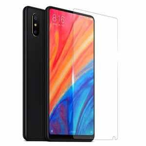 GEMYON Film Protection écran Verre Trempé Protecteur Ultra Slim Résistant Anti-éblouissement Tempered Glass Screen Protector pour Xiaomi Mix2S[9H Dureté]-Transparent