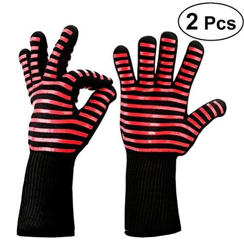 ounona gants de four gant cuisine anti chaleur r sistant. Black Bedroom Furniture Sets. Home Design Ideas