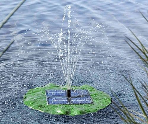 pompe solaire pour tang avec fontaine en forme de. Black Bedroom Furniture Sets. Home Design Ideas