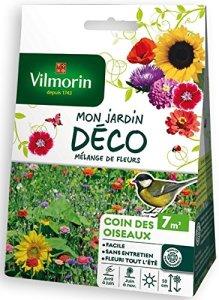 Vilmorin 5867507 Pack de Graines Mélange de Fleurs Coin des Oiseaux 7 m²