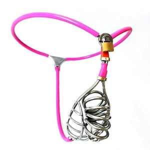 Culottes Nouvelle Acier Inox Chastitybelt Culottes Avec Anal Plug Cock Cage Sexe Jouets Pour Hommes BDSM Bondage Metal Ceinture De Chasteté Dispositif
