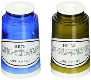 Extech rh350-cal 33% et 75% HR Kit de calibrage pour Extech Hygro-Thermomètre Psychromètre