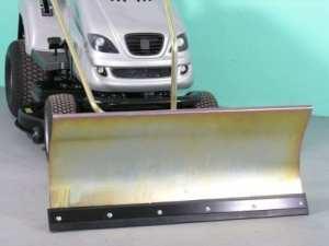 Husqvarna cTH135 galvanisé confort de la lame chasse-neige 118 x 50 cm pour rasentraktore iD 2196