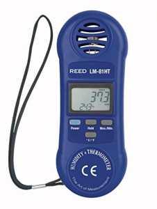 Reed Instruments Thermo-hygromètre, bleu, 1