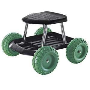 Rollsitz gartenhelfer chariot remorque de jardin jardinage roller