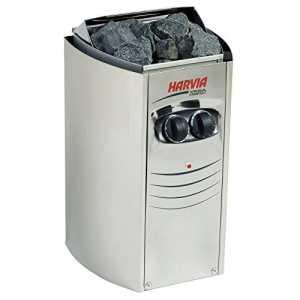 Sauna Poêle Électrique Harvia Vega Compact 3,5 kW avec unité de contrôle encastré BC35, Taille de sauna: 2 – 4,5 m³ , Tension 400 V 2N ou 230 V 1N