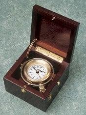 Weems & Plath Gimballed Boîte Horloge