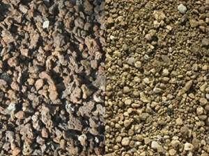 200 kg Substrat pour toiture végétale – sorte 2 – lave / ponce