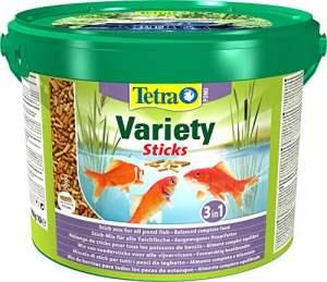 Tetra Pond Variété Sticks Nourriture pour Aquariophilie 10 L
