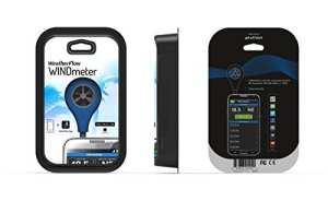 Weather débit Smart Phone anémomètre Bleu