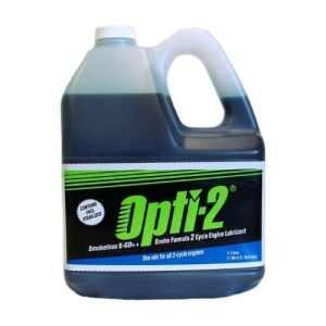 Opti-220044–11GAL Enviro Formule Cycle 2temps Moteur Lubrifiant W/stabilisateur d'essence par Opti-2