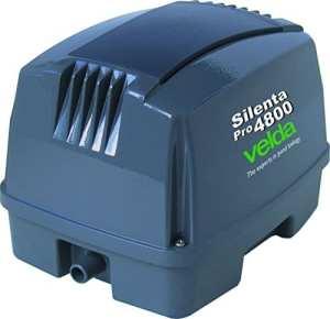 Velda, aérateur complet pour bassin d'agrément, Silenta Pro 4800, 125098