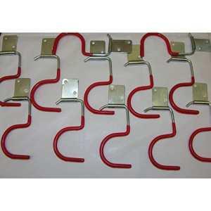 15 x Barre à crochets porte-balai stielhalter gartengerätehalter