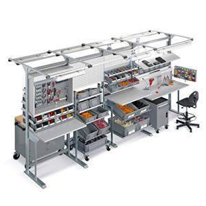disset odiseo fld00010156Série unimod Comfort bancs de travail, 4507mm x 1500mm x 2220mm