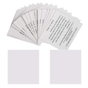 GWHOLE Lot DE 20 Patchs de Réparation pour Piscines, Matelas, Bouées, Spas Gonflables – 5,5 x 6,5 cm