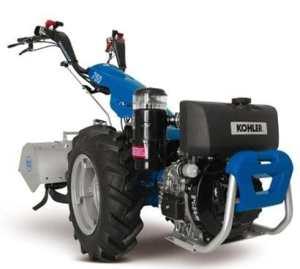 Motoculteur BCS 750avec mot. Lombardini 3LD510avv. Électrique 12,2hp Diesel –