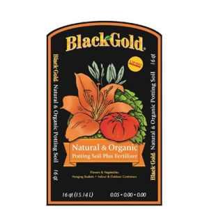 Or Noir 130204016-quart tous les Bio de terreau