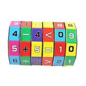 conqueror Joueur Nouveaux Enfants Enfants Mathématiques Chiffres Cube Magique Jouet Puzzle Jeu Cadeau (a)