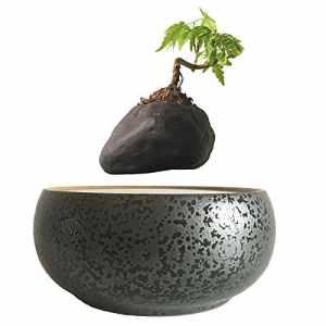 High Tech Lévitation Magnétique Céramique Flottant Bonsai Pots Pot Bonsai Cadeaux XMAS