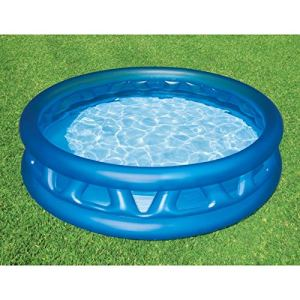INTEX Piscine Gonflable Enfant et famille ronde 188 x 46 cm Soft Side Pool