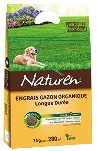 Naturen Engrais Gazon Organique 280m² 7kg