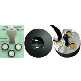 Pack Mist Maker 3 têtes + 3 disques de rechange – Brumisateur à ultrason