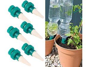 Pearl Royal Gardineer Irrigation pour fleurs : lot de 6 systèmes d'irrigation pour plantes en pot avec pointe d'arrosage