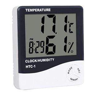Sunshine D Thermomètre Hygromètre Numérique avec Grand écran LCD Moniteur Numérique Température Humidité pour Maison ou Bureau