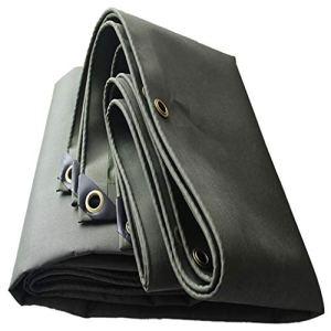 Bâche résistante UV anti-humidité de bâche de protection de bâche résistante, de protection solaire imperméable et portable grand pour la tente de pique-nique de camping en plein air abri 550g / mètre