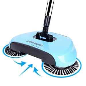 Bescita Robot intelligent 360 Rotary Station de charge automatique Autonomie Robot nettoyeur de sol Robot Nettoyeur de sol Anti-allergies, bleu
