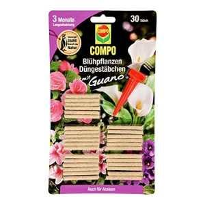 Compo 1206302004dünges täbchen pour plantes à fleurs, 30Pièces