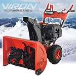Fraise à neige à essence 13ch avec démarreur électrique