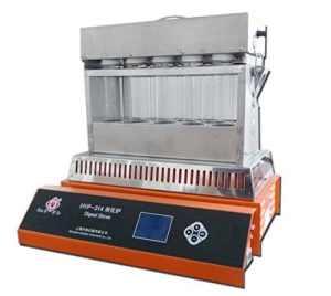 Hyp-314LCD Digestion Analyseur de four de protéine Azotometer Determinator Digest Réchaud avec 14trous