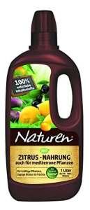 NATUREN Engrais nutritif pour agrumes et autres plantes méditerranéennes bio 1 l