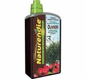 Naturendie Engrais OLIVIERS, lauriers roses, bougainvillers, mimosas