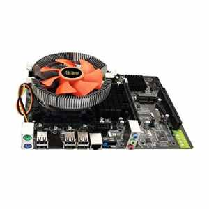 Swiftswan Carte mère de PC de Bureau de X58 E5645 6core CPU + mémoire 8G + Carte Principale de Ventilateur muet