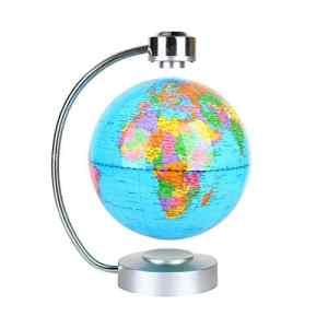 ZJchao Globe terrestre à lévitation magnétique Carte du Monde pour Le Bureau et la Maison Cadeau éducatif pour Les Enfants (Bleu)
