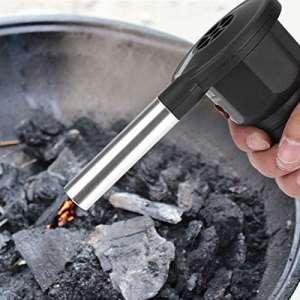 Zunate BBQ Ventilateur,Soufflet Barbecue – Fonctionnement Simple,Portable et Léger – Idéal pour Les Barbecues et Les Pique-niques en Plein Air