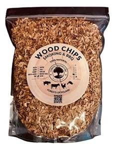 5 Litres de copeaux de bois 100% naturel des forêts de Pologne pour barbecue et fumoir (Aulne)