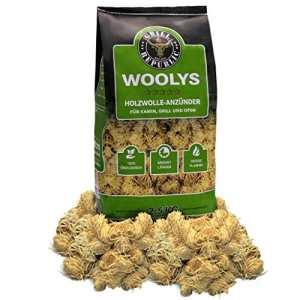 Allume-feux pour en bois écologique copeaux de bois et cire – Inodores et longue durée de combustion 2,5 kg