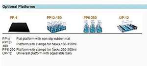 CGOLDENWALL Plateformes pour incubateur à température contrôlée et shaker scientifique Incubateur de shaker 50~300 tr/min R.T.+5~60 °C ES-60