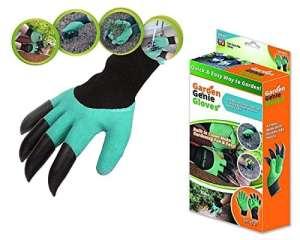 De haute qualité 2pcs NEUF Epithelium facile Gants de jardinage creuser Planter Plastique ABS résistant